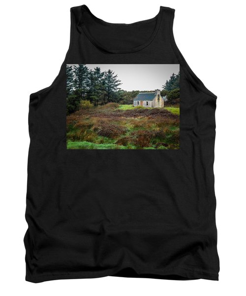 Cottage In The Irish Countryside Tank Top