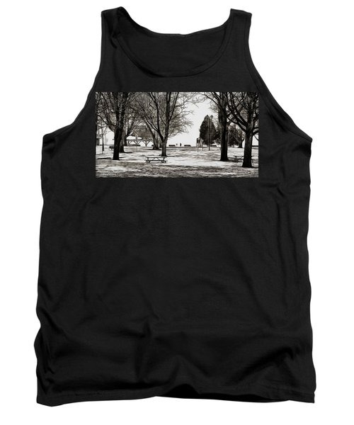 Couchiching Park In Pencil Tank Top