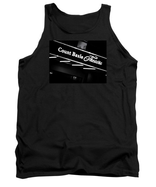 Count Basie Theatre In Lights Tank Top