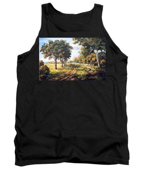 Countryside Tank Top by Alexandra Maria Ethlyn Cheshire