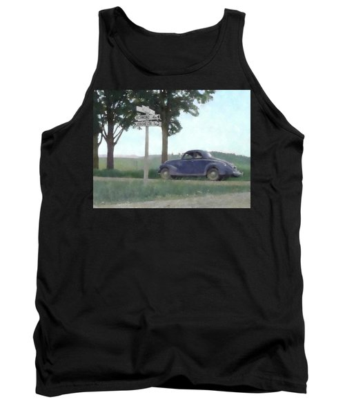 Coupe In The Countryside Tank Top