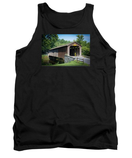 Covered Bridge Tank Top by Kenneth Cole