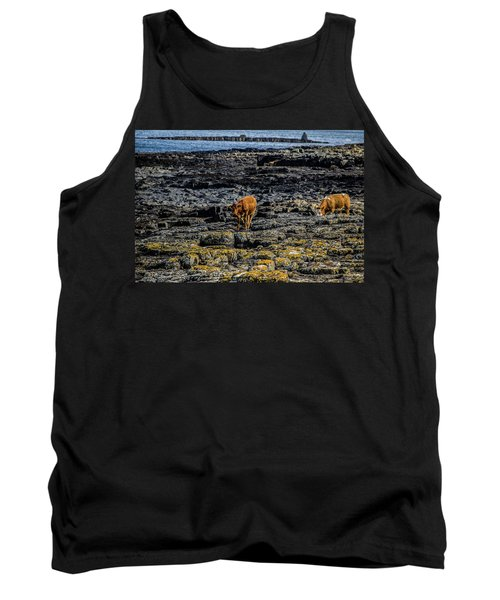 Cows On The Rocks Tank Top