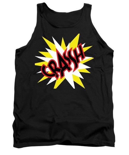 Crash T-shirt And Print By Kaye Menner Tank Top by Kaye Menner