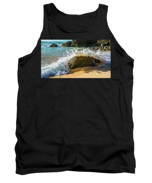 Crashing Over The Rock Tank Top
