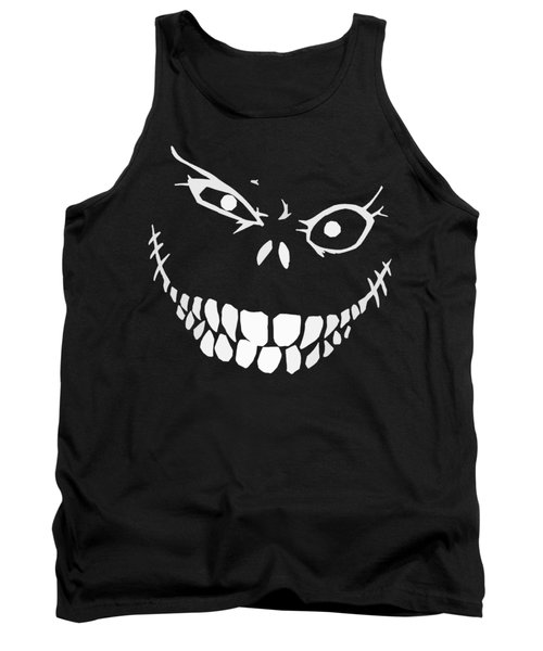 Crazy Monster Grin Tank Top by Nicklas Gustafsson