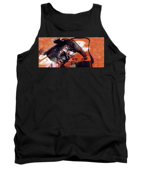Crazy Mouse - Modern Abstract Art Painting Tank Top