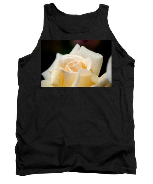 Cream Rose Kisses Tank Top