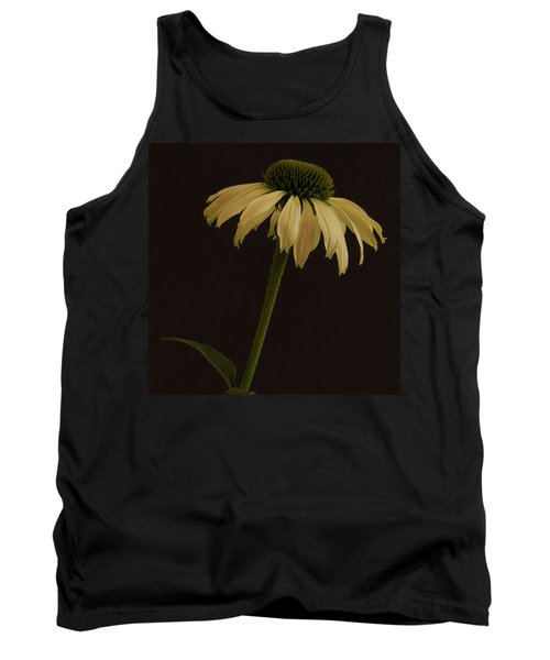 Creamy Yellow Coneflower Tank Top