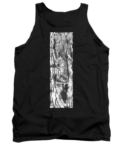 Tank Top featuring the painting Creator by Carol Rashawnna Williams