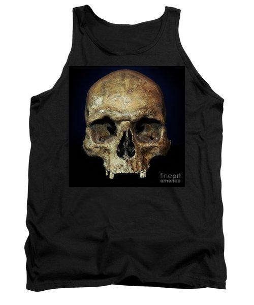 Creepy Skull Tank Top