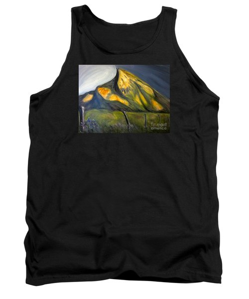 Crested Butte Mtn. Tank Top by Kathryn Barry