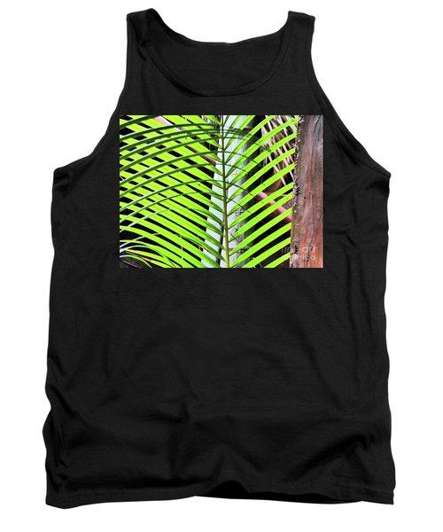 Crisscrossing Palms Tank Top