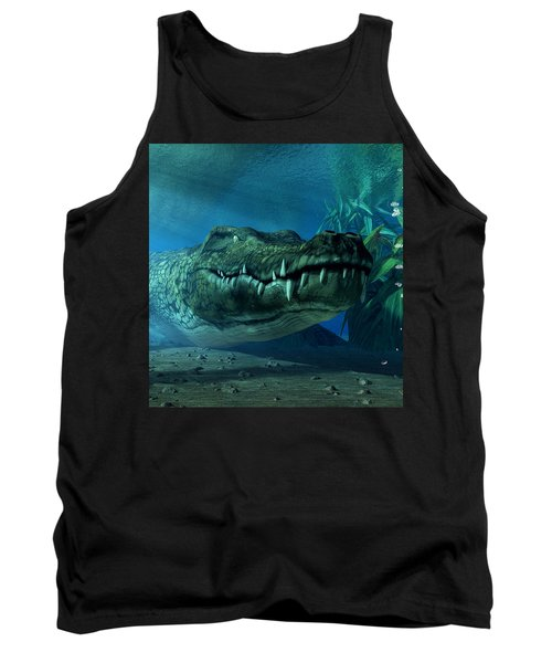 Crocodile Tank Top