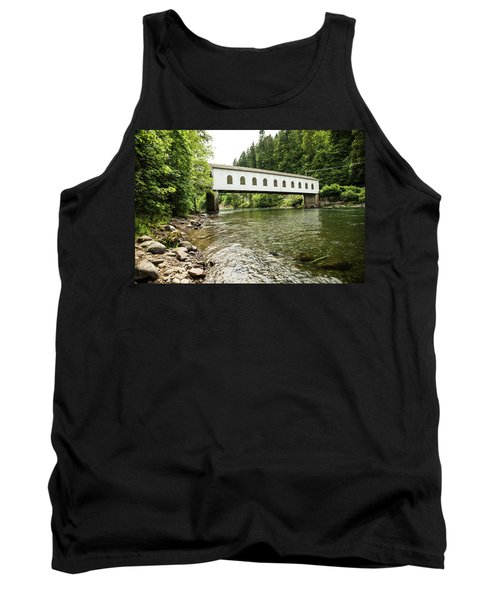 Crossing The Mckenzie River Tank Top