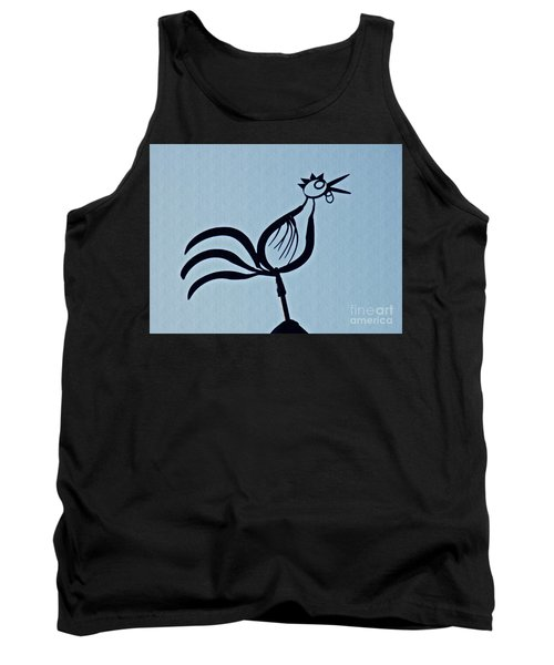 Crowing Rooster Tank Top by Sarah Loft