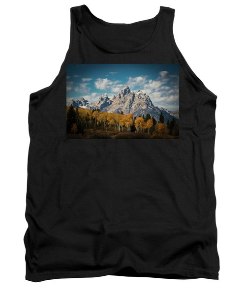 Crown For Tetons Tank Top by Edgars Erglis