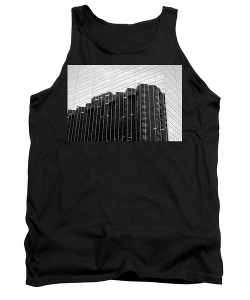 Tank Top featuring the photograph Cubicle Farm by Valentino Visentini