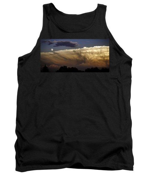 Cumulonimbus At Sunset Tank Top by Jason Moynihan