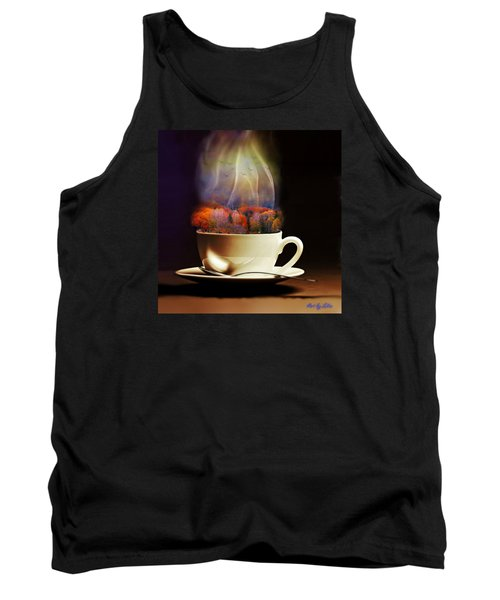 Cup Of Autumn Tank Top by Lilia D