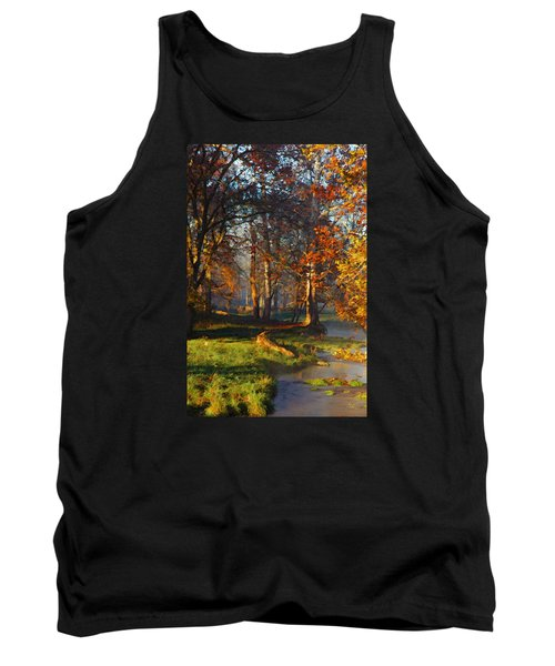 Curry Stream Fall Tank Top
