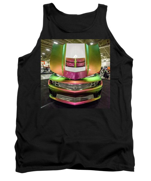 Tank Top featuring the photograph Custom Camaro by Randy Scherkenbach