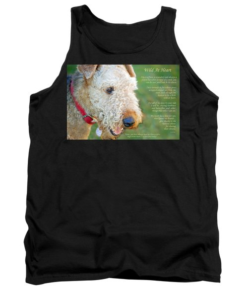 Custom Paw Print Dakota Tank Top