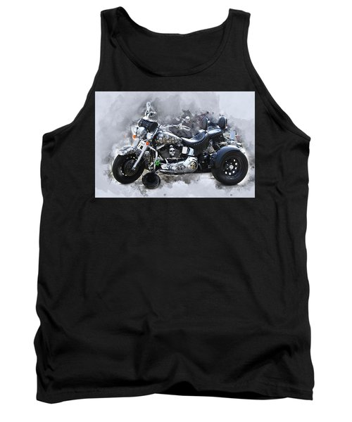 Customized Harley Davidson Tank Top