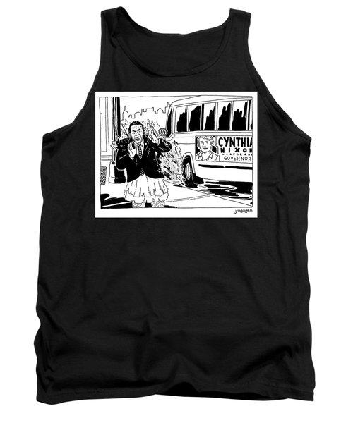 Cynthia Nixon For Governor Tank Top