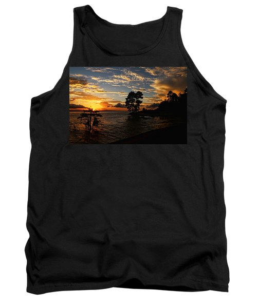 Cypress Bend Resort Sunset Tank Top