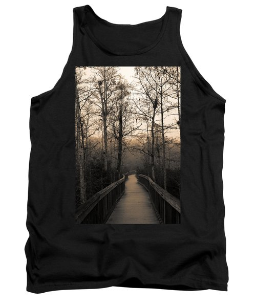 Cypress Boardwalk Tank Top