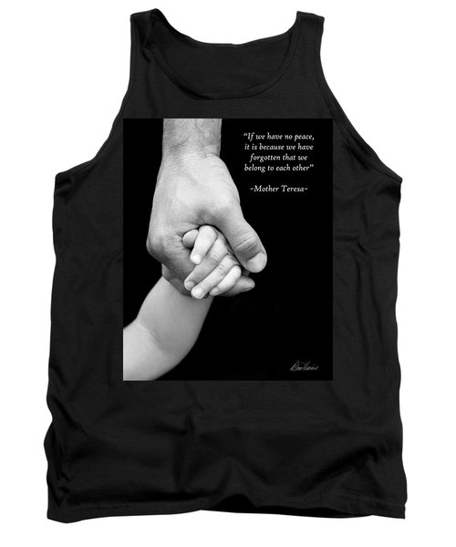 Daddy's Hand Tank Top