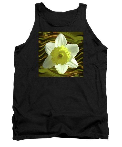 Daffodil Swirl Tank Top