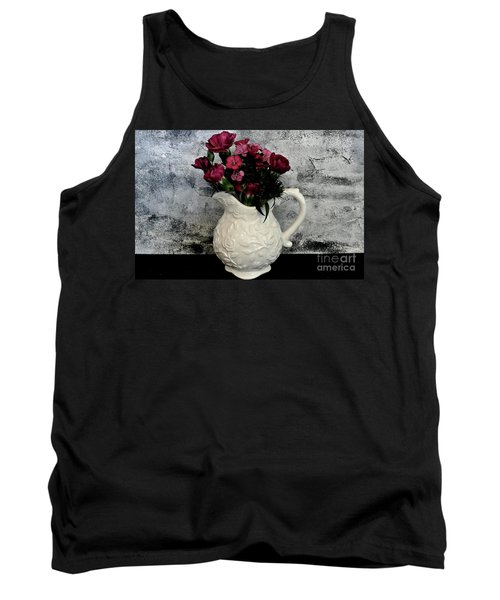 Tank Top featuring the photograph Dainty Flowers by Marsha Heiken