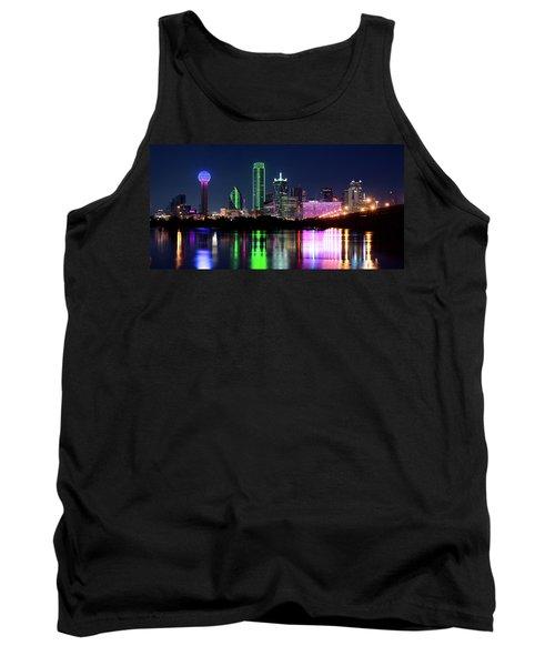 Dallas Colorful Night 52716 Tank Top