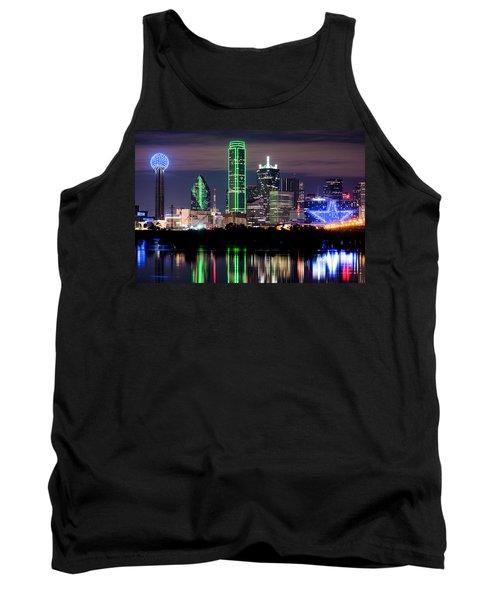 Dallas Cowboys Star Skyline Tank Top