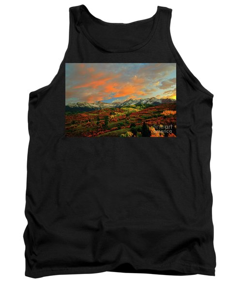 Dallas Divide Sunset - 2 Tank Top