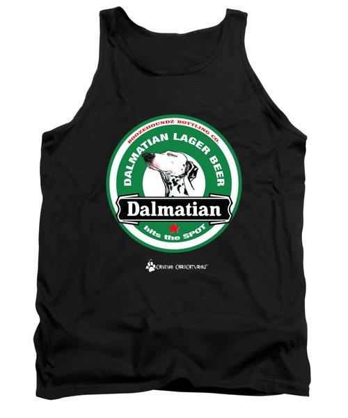 Dalmatian Lager Beer Tank Top