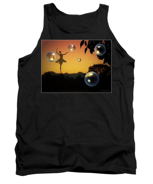 Tank Top featuring the photograph Dance Of A New Day by Joyce Dickens