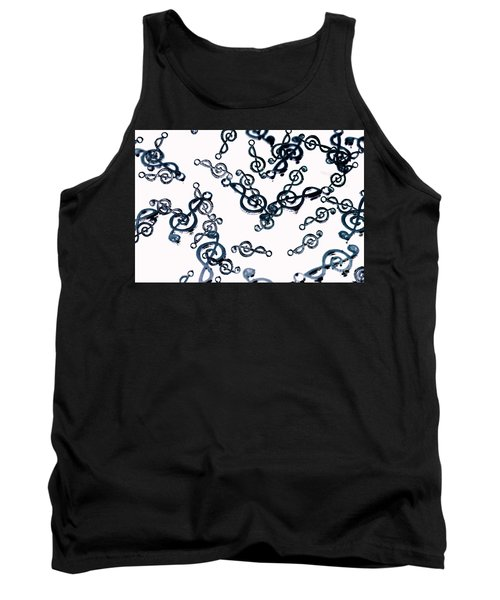 Dance Of The Treble Clef  Tank Top