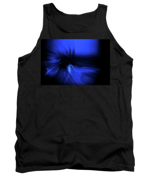 Dance Swirl In Blue Tank Top