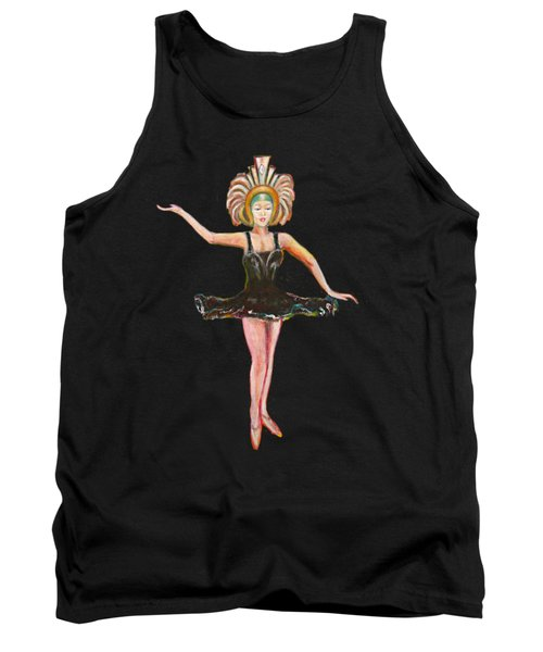 Dancer In The Black Tutu Tank Top by Tom Conway