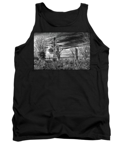 Tank Top featuring the photograph Dark Days by Brian Wallace