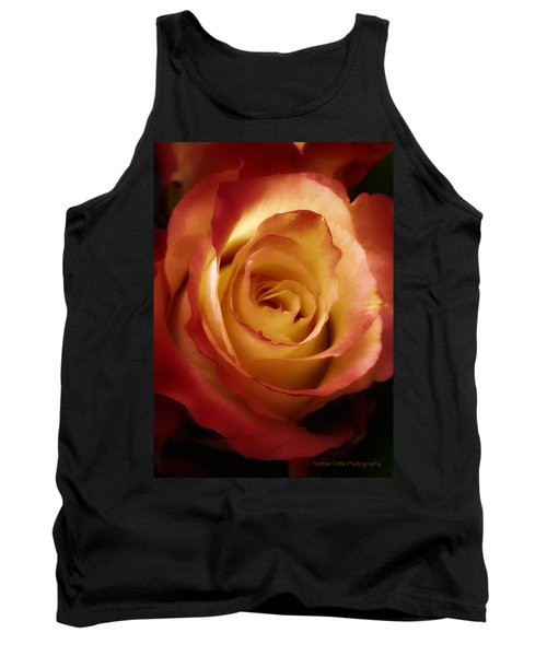Dark Rose Tank Top