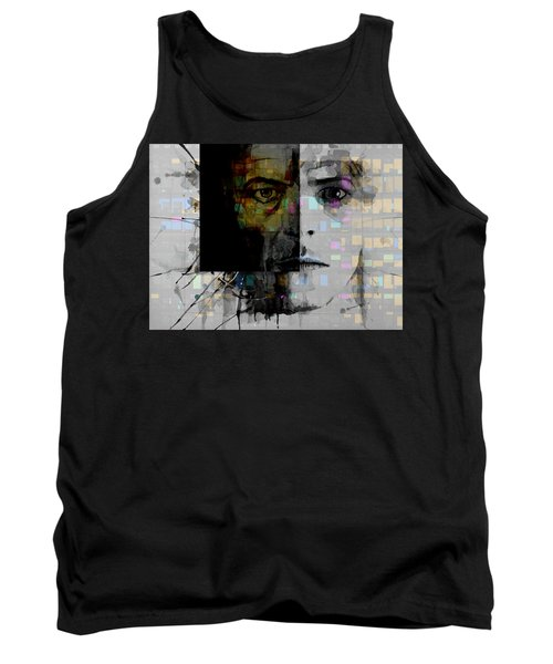 Tank Top featuring the painting Dark Star by Paul Lovering