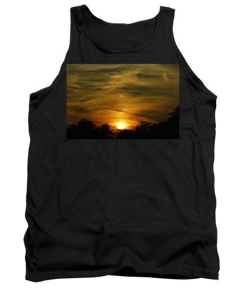Dark Sunset Tank Top