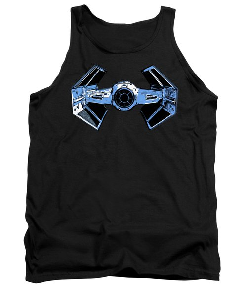 Darth Vaders Tie Figher Advanced X1 Tee Tank Top