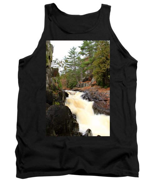 Dave's Falls #7277 Tank Top by Mark J Seefeldt