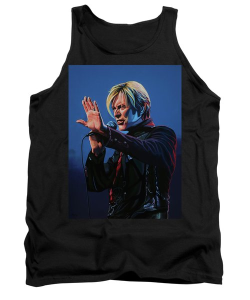 David Bowie Live Painting Tank Top
