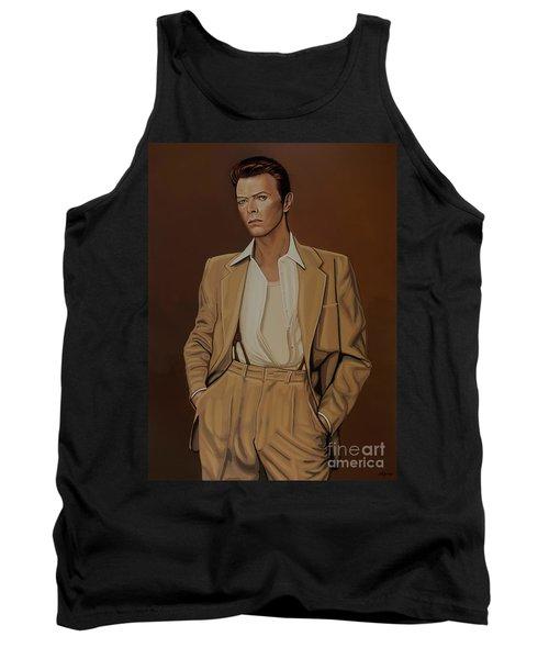 David Bowie Four Ever Tank Top by Paul Meijering